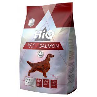 HIQ Maxi Adult Salmon Sausas pašaras šunims 11 kg