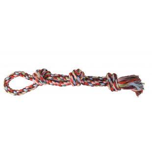 TRIXIE Žaislas šunims susukta spalvota virvė 500 g, 60 cm