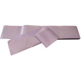 TAURO PRO LINE Dvisluoksnės papilotės violetinės, 100 vnt., 10 x 50 cm