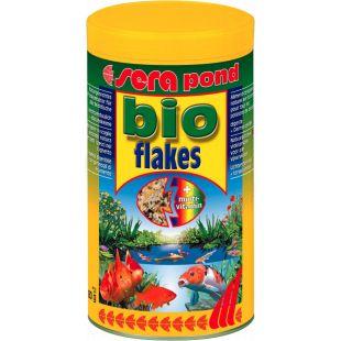 SERA Bioflakes/flakes Pašaras dribsniais visoms tvenkinių žuvims 1000 ml
