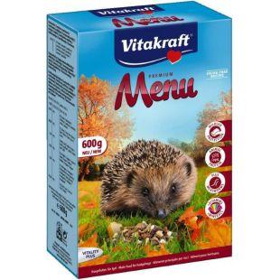 VITAKRAFT Premium Menu Food Pašaras ežiams Hedgehog 600 g