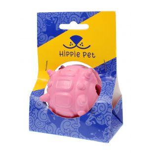 HIPPIE PET Žaislas šunims kamuoliukas rausvos spalvos