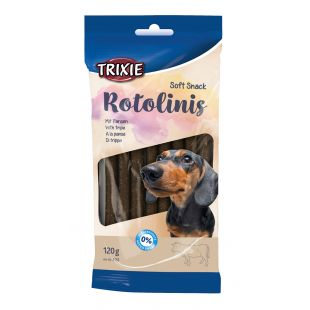 TRIXIE Skanėstai šunims, pagaliukai iš skrandžio 12 vnt., 120 g, 12.5 cm