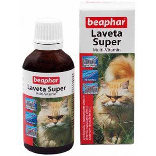 BEAPHAR Laveta super cat Vitaminai plaukui 50 ml