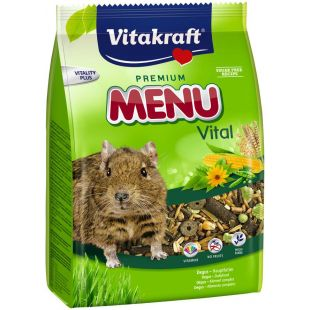VITAKRAFT MR Menu Basic Food Pašaras degu 600 g