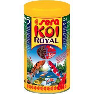 SERA Koi royal mini Pašaras japoniškų karpių, gyvenančių tvenkinyje 1000 ml