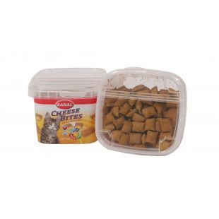 SANAL Cheese Bites Cup Pašaro papildas katėms 75 g
