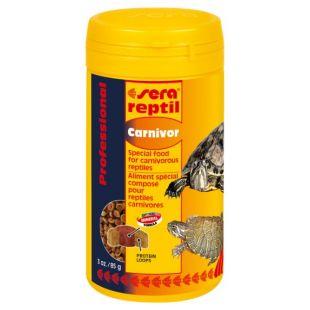 SERA Reptil Professional Carnivorr Pašaras mėsėdėms reptilijoms 250 ml