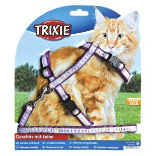 TRIXIE Petnešos ir pavadėlis katėms 0.13x34-57 cm, 120 cm