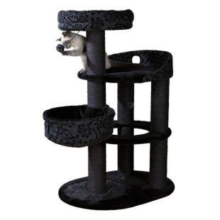 TRIXIE Filippo Draskyklė katėms juoda/pilka, 114 cm