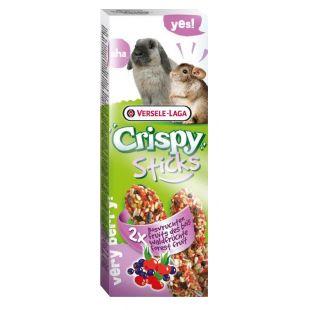 VERSELE LAGA Crispy Sticks Pašaro papildas triušiams ir jūros kiaulytėms su miško vaisiais, 2 vnt.