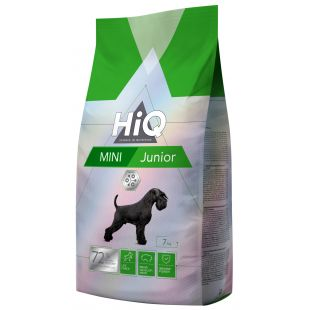 HIQ Mini Junior Poultry Sausas pašaras šunims 7 kg