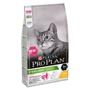 PRO PLAN Sterilised Adult Chicken Sausas pašaras katėms 1.5 kg