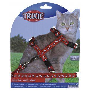 TRIXIE petnešos ir pavadėlis katėms 0.1x27-46 cm, 120 cm