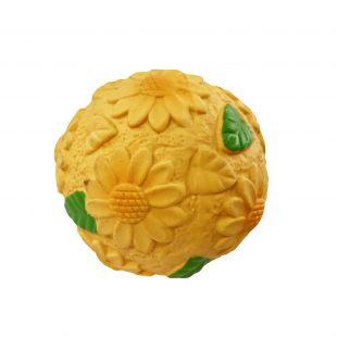 HIPPIE PET Sunflower Lateksinis žaislas šunims x 1