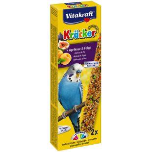 VITAKRAFT Kracker Gardėsis banguotoms papūgoms 2 vnt. su vaisiais