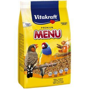 VITAKRAFT Premium Menu Exotis Pašaras egzotiškiems paukščiams 500 g