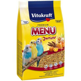 VITAKRAFT Menu Budgies Kids Lesalas banguotoms papūgoms 500 g