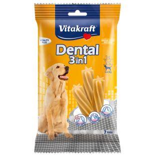 VITAKRAFT Dental 3in1 medium Pagaliukai šunims 180 g