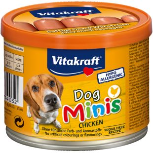 VITAKRAFT Dog Minis Chicken Konservuotos dešrelės 120 g