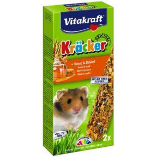 VITAKRAFT Kracker Gradėsis žiurkėnams 2 vnt su medumi