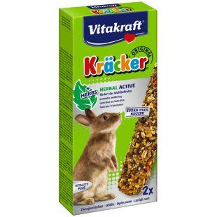 VITAKRAFT Kracker junior calcium Gardėsiai triušiams 2 vnt