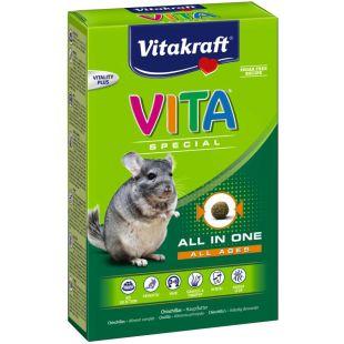 VITAKRAFT Vita special regular Pašaras šinšiloms 600 g