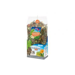 JR FARM Grainless Health Mix Pašaras šinšiloms ir degu 600 g