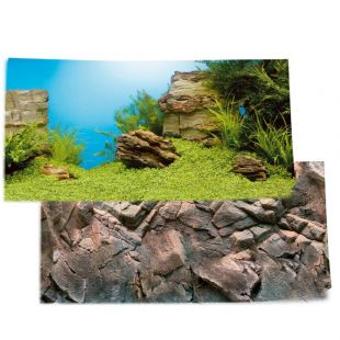 JUWEL Poster Fonas akvariumui dvipusis 80-100 x 50 cm, L dydis
