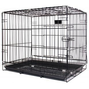 HIPPIE PET Narvas gyvūno transportavimui juodas, 107x59x79 cm