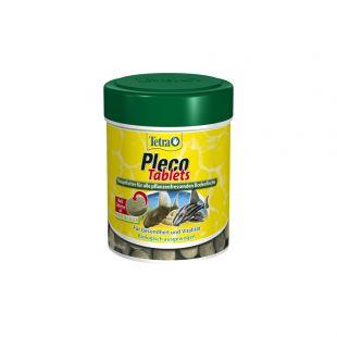 TETRA Pleco Tablets Pašaras žolėdėms dugninėms akvariumo žuvims 275 vnt.