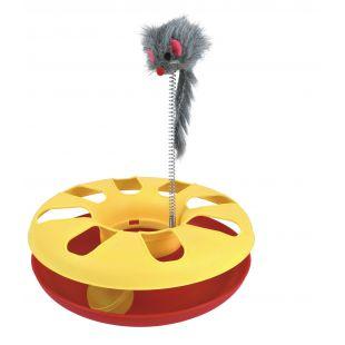 TRIXIE Žaislas katėms Ratas su pele 24x29 cm