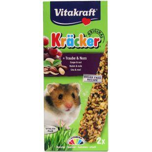 VITAKRAFT Kracker Gradėsis žiurkėnams 2 vnt su riešutais
