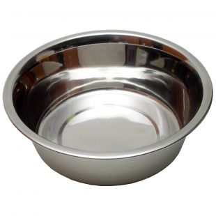 ANKURAS Dubenėlis šunims metalinis 2.8 L, 24.8 cm