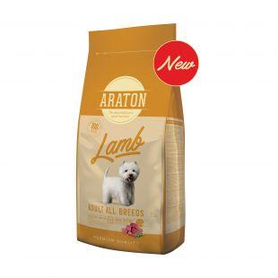ARATON Adult Lamb Sausas pašaras šunims 15 kg