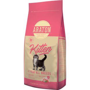 ARATON Kitten Sausas pašaras 15 kg