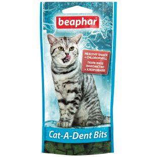 BEAPHAR Cat-a-dent bits Skanėstai katėms 35 g