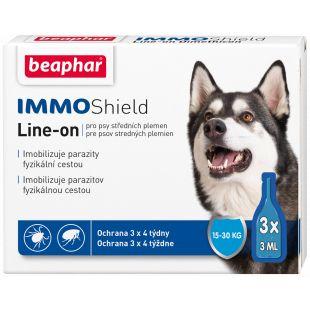 BEAPHAR Immo Shield Šunų lašai, 1 pipetė 1 pipetė vidutinių veislių šunims x 3