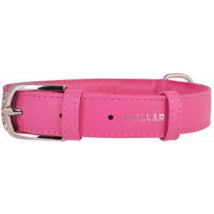 COLLAR GLAMOUR odinis antkaklis rožinis, 3.5x46-60 cm