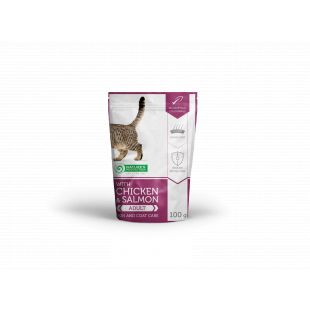 with Chicken & Salmon Skin and Coat Care 100 g