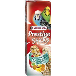 VERSELE LAGA Prestige Sticks Gardėsis banguotoms papūgėlėms su egzotiniais vaisiais, 2 vnt.