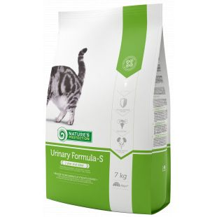 NATURE'S PROTECTION Urinary Formula-S Adult 1 year and older Poultry Sausas pašaras katėms 7 kg