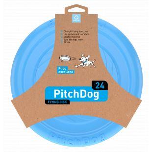 PULLER PitchDog Žaislas šunims 24 skraidantis diskas mėlynas, 24 cm