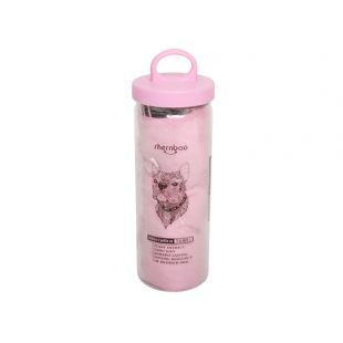 SHERNBAO Rankšluostis rožinis, 65x45 cm