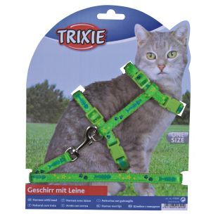 TRIXIE Petnešos ir pavadėlis katėms 0.1x22-36 cm, 120 cm