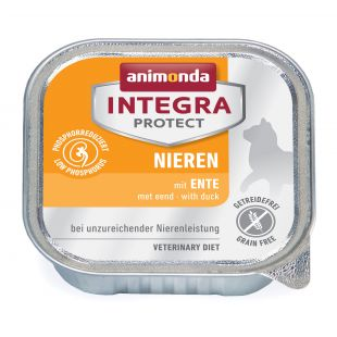 INTEGRA Integra Renal Konservuotas pašaras katėms su antiena 100 g