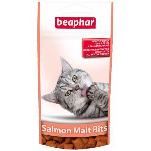 BEAPHAR Malt-bits salmon cat Skanėstai-pagalvėlės 35 g