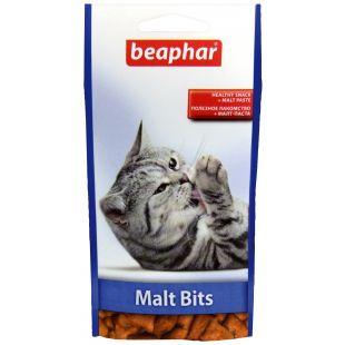 BEAPHAR Malt-bits cat Skanėstai-pagalvėlės su malt pasta 35 g