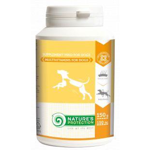 NATURE'S PROTECTION Multivitamins Papildai šunims, 150 g