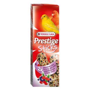 VERSELE LAGA Prestige Sticks Gardėsis kanarėlėms su miško vaisiais, 2 vnt.